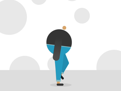 First Walk Cycle walk cycle animation practice walkcycle design motion graphics animation 2d