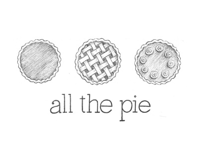 All the pie! pie thanksgiving sketch ipad lettering hand lettering handlettering sketchbook illustration handdrawn lettering drawing