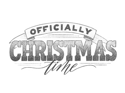 Officially Christmas Time! ipadproart ipad lettering holidays christmas drawing script hand lettering calligraphy handdrawn lettering handlettering sketchbook