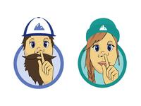 Staff Picks Logo Illustrations