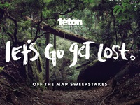Off The Map Contest Lettering