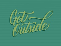 Get Outside Lettering