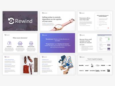 Rewind.io Sales Deck