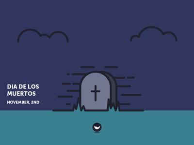 Dia de Los Muertos in Brazil spicy icons outline night cemetery graveyard cross grave icon day of the dead deads day dia de los muertos