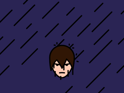 Me, today i forgot my umbrella at home angry mad weather wet rain me