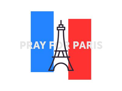 Pray For Paris icon france eiffel tower eiffel tour tragedy paris pray