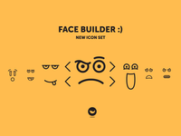 Face Builder - New icon set!