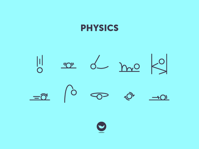 Did you say physics? gravity spicy icons icon set icon ball physics