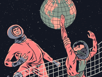 Los Planetas in Pachuca / Gig poster