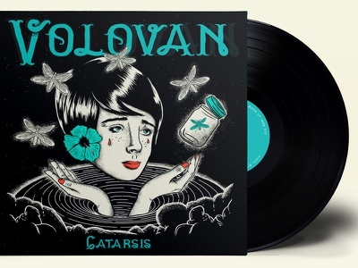 Volovan - Catarsis  illustration ep artwork volovan
