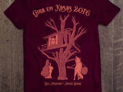 Gira en Kasas 2016 T-shirt  illustration tee tee design t-shirt