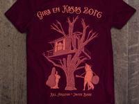 Gira en Kasas 2016 T-shirt