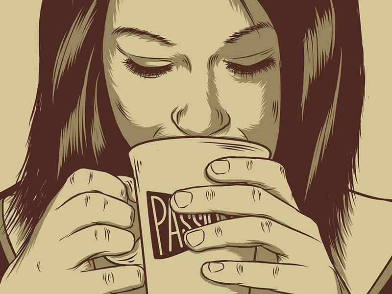 Passion cafe web