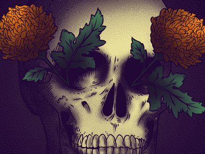 Celebremos la muerte con la vida death life illustration day of the dead dia de muertos