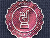 Pinky promise patch