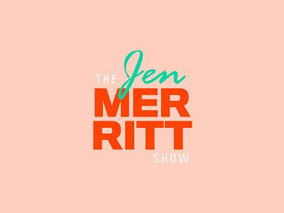 The Jen Merritt Show Concept logo icon vector typography type lettering illustrator illustration identity design