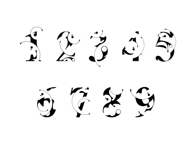 Varsity Numbers & Glyphs display typeface typeface typogaphy