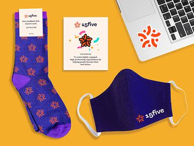15Five Team Swag 15five rebrand swag