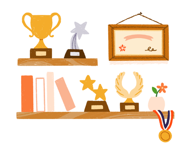 Success success trophy rebrand illustration 15five