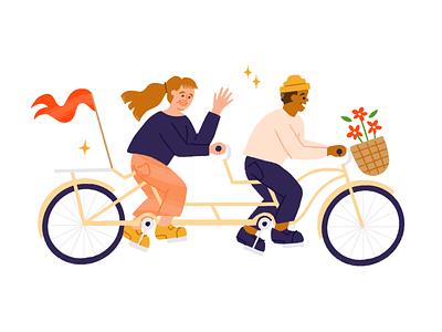 🚴 🚴 brand 15five bike bicycle illustration