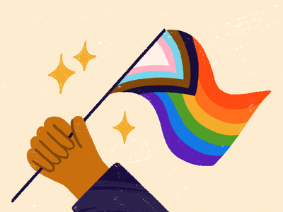 Happy Pride! lgbtq illustration pride 15five