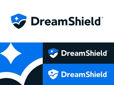 DreamShield Logo shield identity logo malware dreamshield dreamhost