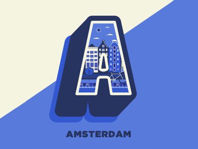 Amsterdam - 36 days of type