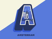 Amsterdam - 36 days of type