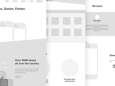 Macstock Wireframe