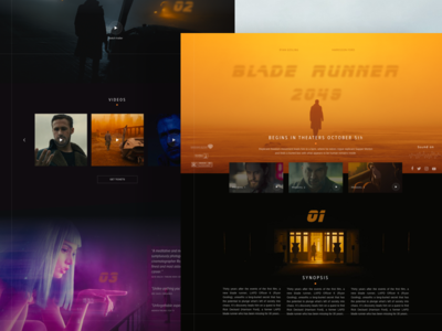 Blade Runner 2049 Promo Page
