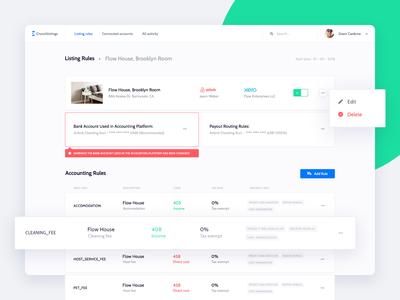 CrunchListings - Accounting Webapp