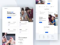TeamStack - Homepage Design