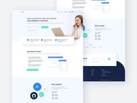 ExpoIQ - Homepage Design