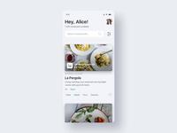Restaurants App Interactions