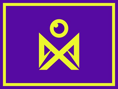 misc_03 person frame border attention shapes geometric eye soldier
