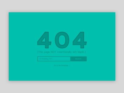 404 Page not found search page 404 ui website 008 dailyui