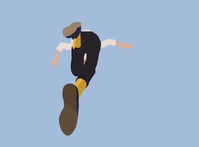 JUMP sky vector jump