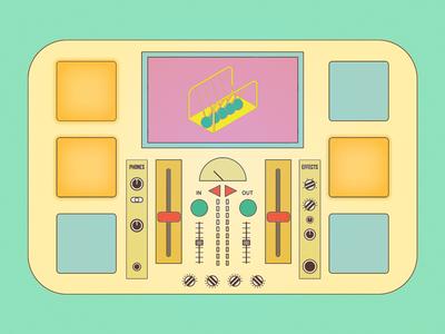 Fantasy MPC mixer mpc music dj