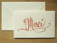 Coxcomb Merci card