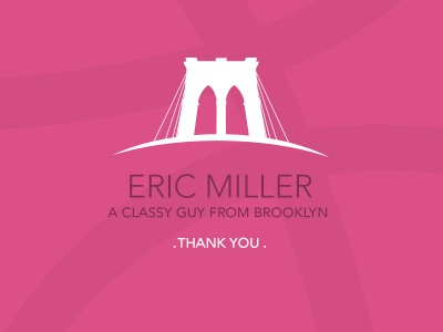 @EricMiller debut brooklyn eric miller whataboutchris