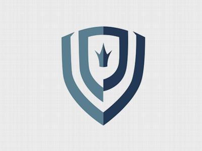 Vinson Polk Ministries logo brand monogram design ministry