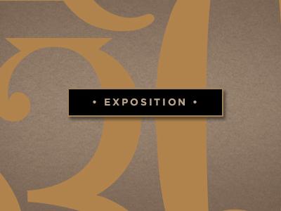 Exposition (Bundle) font type lettering typeface