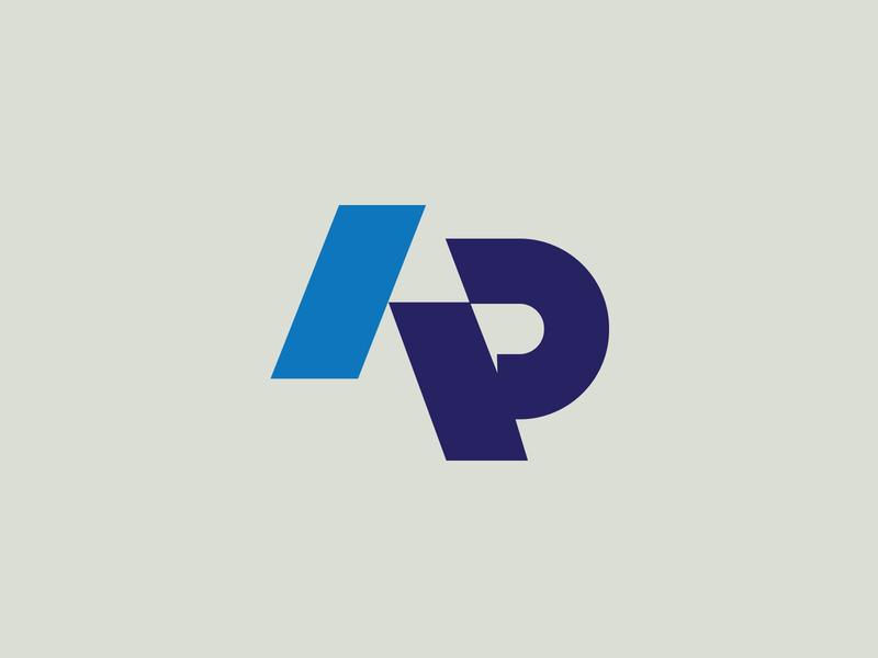 Alton Prater Events logo design brand