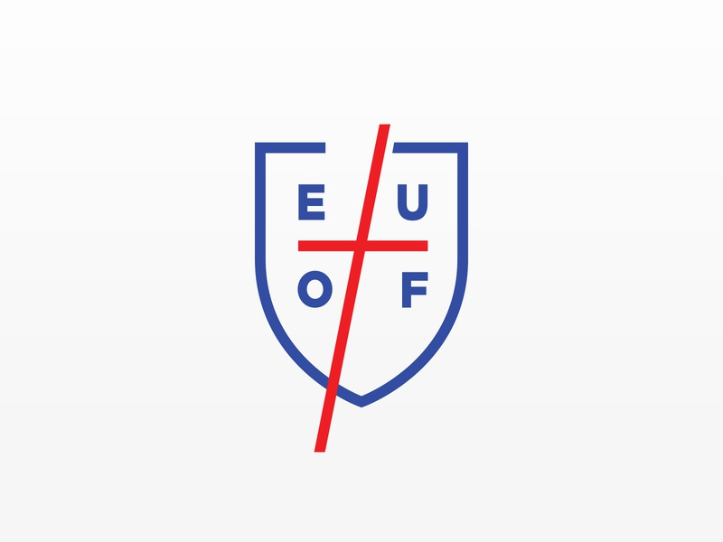 EUOF Logo church logo logo design brand