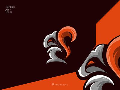 Squirrel logo new apparel simple esport squirrel modern motion graphics 3d graphic design animation icon app typography ux vector ui branding logo illustration design