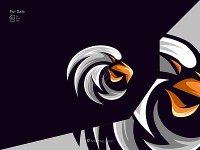 Eagle logo icon simple modern company logo collor new modern logo identity sport motion graphics ui illustration 3d animation apparel branding design esport graphic design logo