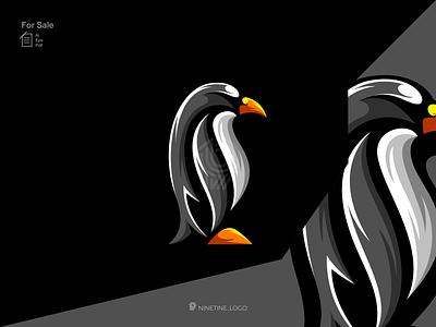 Penguin logo logo new mascot logo icon animal logo penguin simple logo modern brand identity initial logo motion graphics ui logo illustration graphic design esport design branding apparel animation 3d