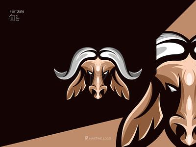 Buffalo logo bull logo design simple logo modern logo mascot icon logo animal logo buffalo sport motion graphics ui illustration 3d animation apparel branding esport design graphic design logo