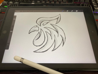 Rooster logo initiallogo modern animal simple logo icon sport mascot symbol rooster motion graphics ui 3d animation apparel branding illustration graphic design esport design logo