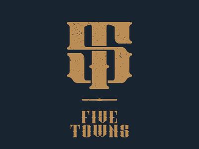 Five Towns towns five musician mark logo